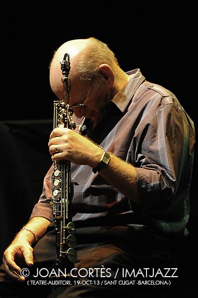 IMJ025_DAVE LIEBMAN (©Joan Cortès)_19oct13_Saxophone Summit_Teatre-Auditori_45èFIJazz Bcn_Sant Cugat (Bcn)