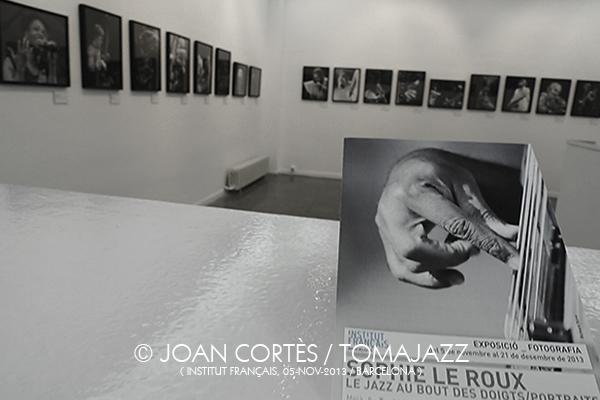 01_SOPHIE LE ROUX (©Joan Cortès)_05nov13_Institu Français_45FIJazz_Barcelona