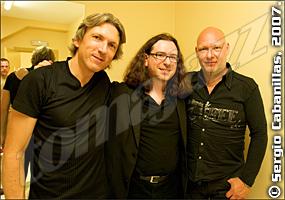 Magnus Öström, Arturo Mora, Dan Berglund © Sergio Cabanillas, 2007