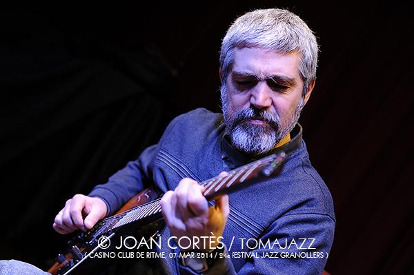 03_DANI PEREZ_Joan Cortes_07mar2014_Casino Club de Ritme_24Festival Jazz Granollers_Granollers