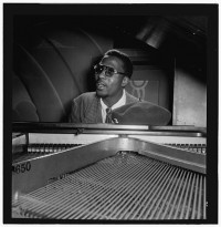 Thelonious Monk  Minton's Playhouse, New York, N.Y.  ca. September 1947  Photograph by William P. Gottlieb