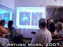 Asistentes a la conferencia © Arturo Mora, 2007