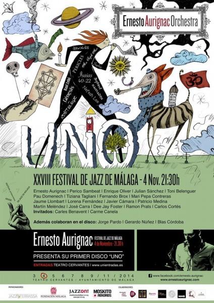 Ernesto Aurignac Festival Jazz Malaga 2014
