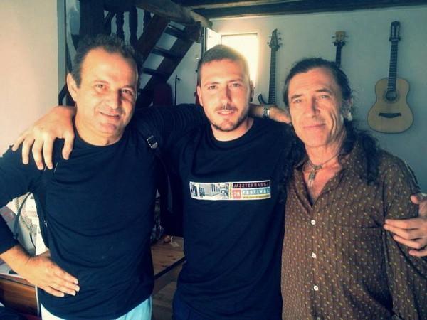 Gerardo Núñez, Ernesto Aurignac y Jorge Pardo
