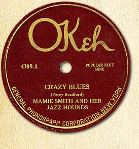 "La música de LODLMA: ""Crazy Blues"" (Mamie Smith)"