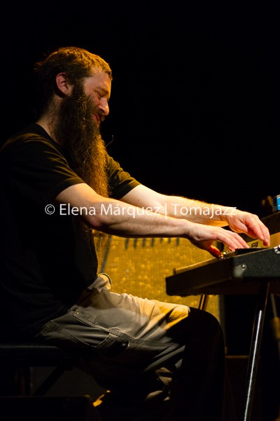 150307_Plymouth-Jamie Saft-Joe Morris-Mary Halvorson-Chris Lightcap-Gerald Cleaver-Matadero-Huesca_0228