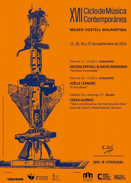 Ciclo Musica Contemporanea Museo Vostell 2015 Malpartida Caceres