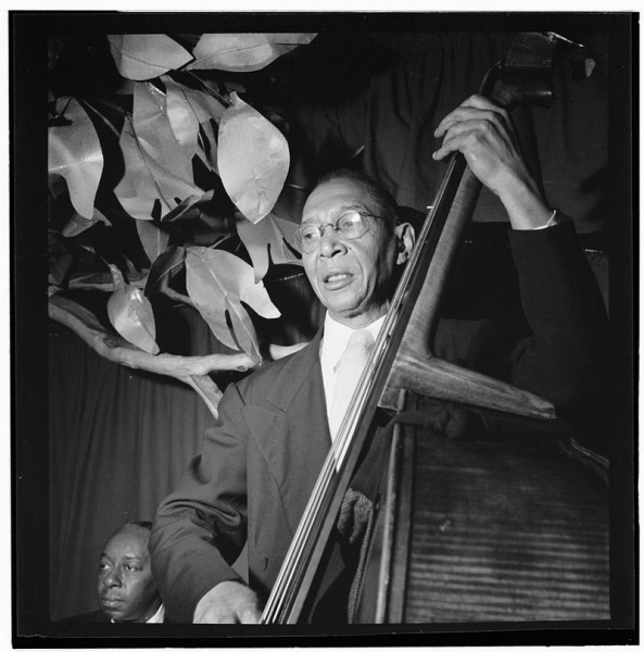 Portrait of Pops Foster, Ole South, New York, N.Y.  1947. Photography William P. Gottlieb