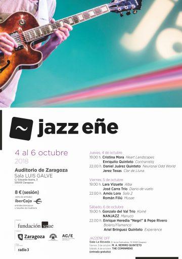 JazzEñe 2018 (Zaragoza. Del 4 al 6 de octubre de 2018) [Noticias]