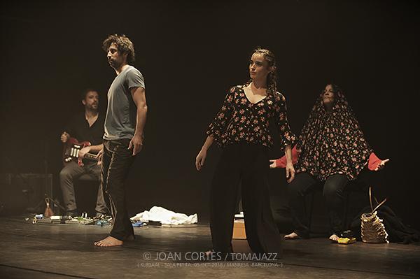 """INSTANTZZ: Lali Ayguadé y Joana Gomila """"Sa mateixa"""" (El Kursaal -Sala Petita-, Fira de la Mediterrània, Manresa -Barcelona-. 2018-10-05) [Galería fotográfica]"""