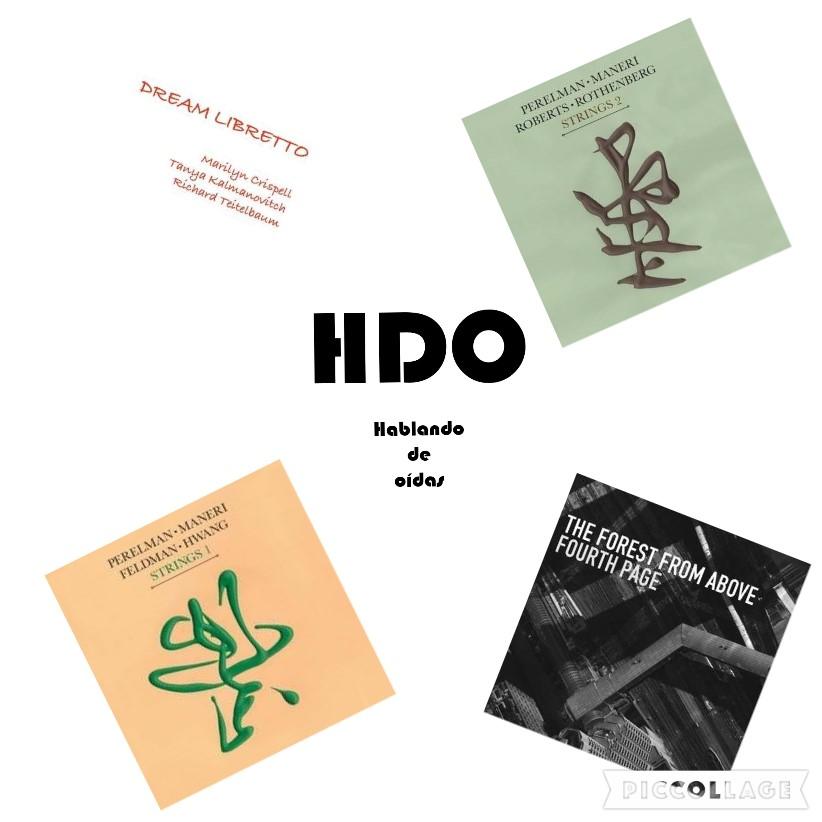 HDO 482. Leo Records: Marilyn Crispell, Ivo Perelman, Hank Roberts, Mat Maneri... [Podcast]