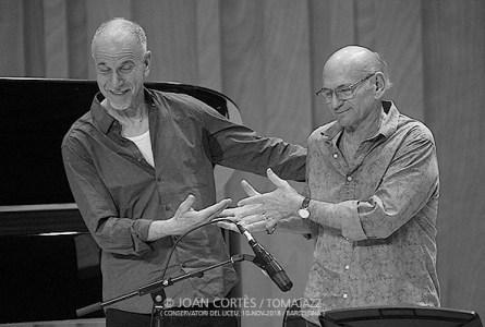 INSTANTZZ: Dave Liebman – Marc Copland (Conservatori del Liceu, Voll-Damm Festival Internacional de Jazz de Barcelona, 50 edicions / Barcelona.  2018-11-10) [Galería fotográfica]