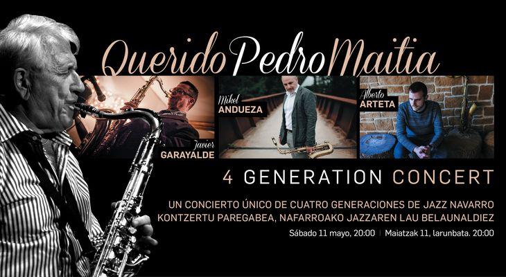 Querido Pedro Maitia: concierto homenaje a Pedro Iturralde (Teatro Gayarre, Pamplona. 2019-05-11) [Noticias]