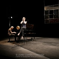 """INSTANTZZ: Duo Mélissa Von Vépy & Stéphan Oliva """"Miroir, Miroir""""-ensayo general- (Festival Les Émouvantes, Théâtre des Bernardines, Marseille. 2019-09-18) [Galería fotográfica]"""
