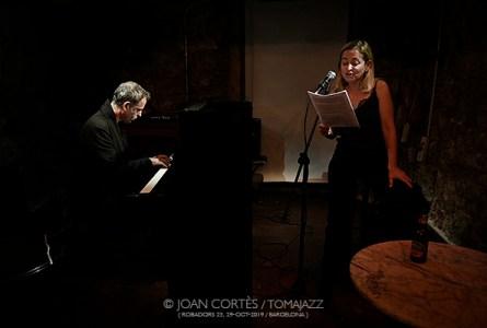 """INSTANTZZ: Albert Bover & Míriam García """"La Tierra Inhabitable: La vida después del calentamiento"""" (3r Basement Bcn Jazz Festival / Future, Robadors 23, Barcelona.  2019-10-28) [Galería fotográfica]"""
