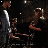 "INSTANTZZ: Jam Futur – Rita Payés meets ""Around The Space"" con LeFalang, LeBalcaz & LeSaig (3r Basement Bcn Jazz Festival / Future, Robadors 23, Barcelona.  2019-10-30) [Galería fotográfica AKA Fotoblog de jazz, impro... y algo más]"