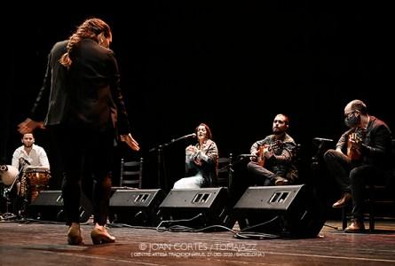 INSTANTZZ: Tablao de Músics (Festival Ciutat Flamenco 2020 / CAT -Centre Artesà Tradicionàrius-, Barcelona.  2020-12-27) [Flamencuras] AKA [Galería fotográfica AKA Fotoblog de jazz, impro… y algo más] Por Joan Cortès