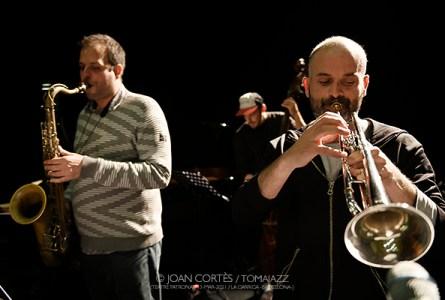 """INSTANTZZ: Enrique Oliver Quartet """"Incerteza"""" (Teatre La Garriga El Patronat, La Garriga -Barcelona-. 2021-03-13) [Galería fotográfica AKA Fotoblog de jazz, impro… y algo más] Por Joan Cortès"""
