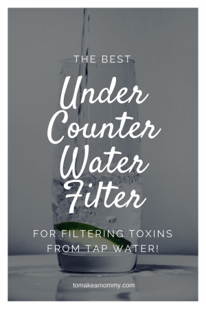 review pure effects water filter the best under the counter water filter fertility infertility