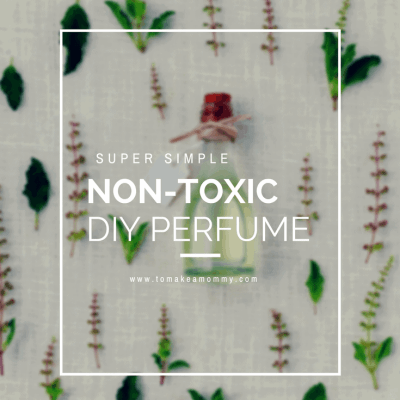 The simplest DIY recipe ever for making a non-toxic essential oil roll-on perfume. It really doesn't get any easier than this! Safe when trying to conceive and when pregnant!