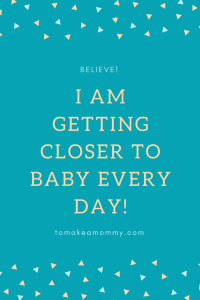 Fertility Affirmation for TTC (trying to conceive).