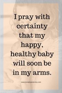 Infertility Inspiration, Praying with Saint Anthony of Padua, Patron Saint of Miracles, Lost Things, Barren Women, Pregnancy, Infertility, Fertility, and Trying to Conceive #fertility #infertility #catholicsaint #prayer #ttc