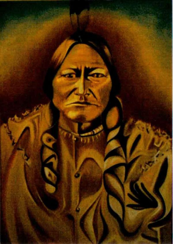 Disintigration of sitting bull 1