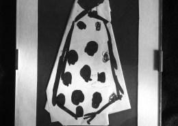 Corbata para carnaval. Tinta sobre papel. By Tn