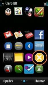 App Stop no Menu