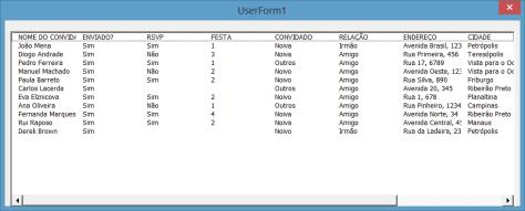 VBA - Preenchendo um listbox com mais de 10 colunas 2