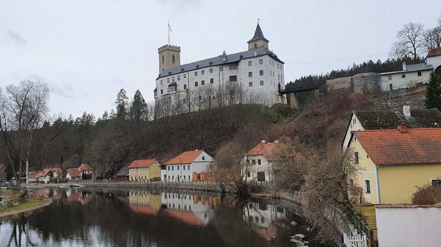 Státní hrad Rožmberk nad Vltavou