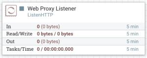 ListenHTTP as a Web Proxy Endpoint