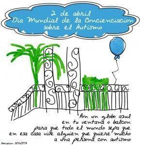Día Mundial Concienciación sobre el Autismo