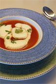 Tomaten-Suppe mit Zitronengras (Bildquelle: Henry)