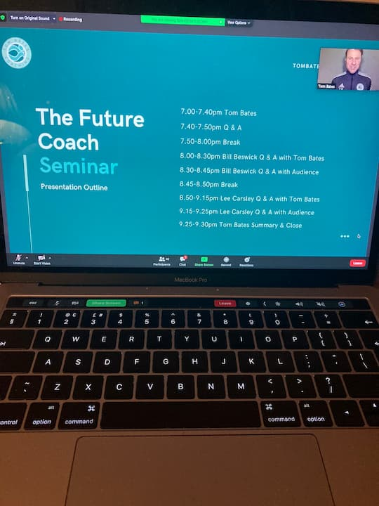 Image for The Future Coach Virtual Seminar December 2020
