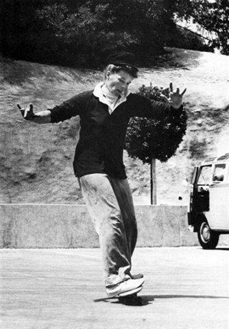 Kate Hepburn Skateboarding
