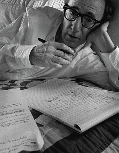 Woody Allen writing