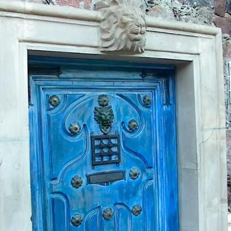 Blue Lion door 2