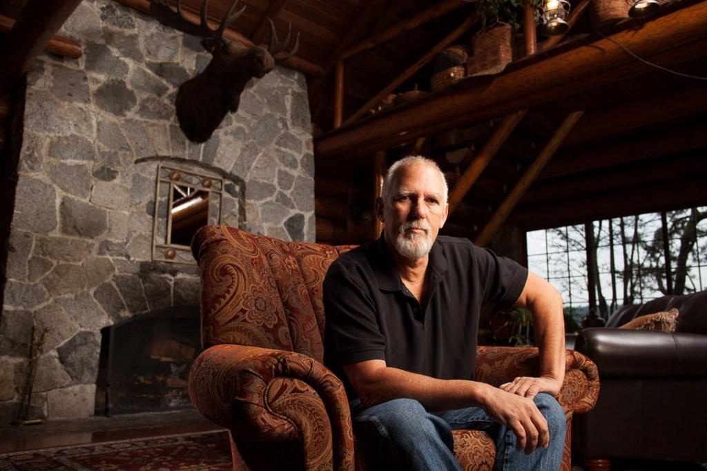 Tom Bettenhausen at Kiana Lodge Washington state