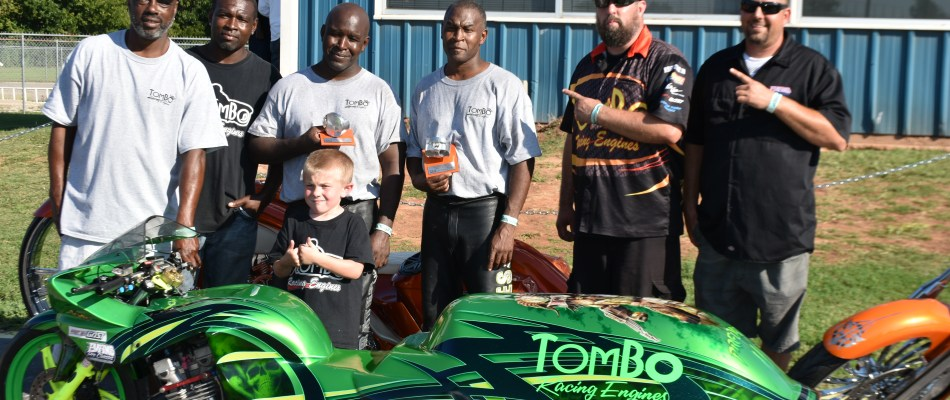 Tombo Throwdown in The Valley Winner's Circle