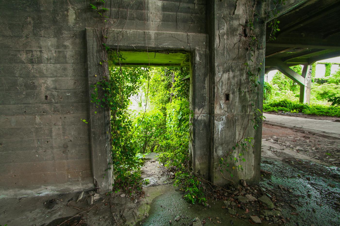 abandoned shipyard 伊万里川南造船所
