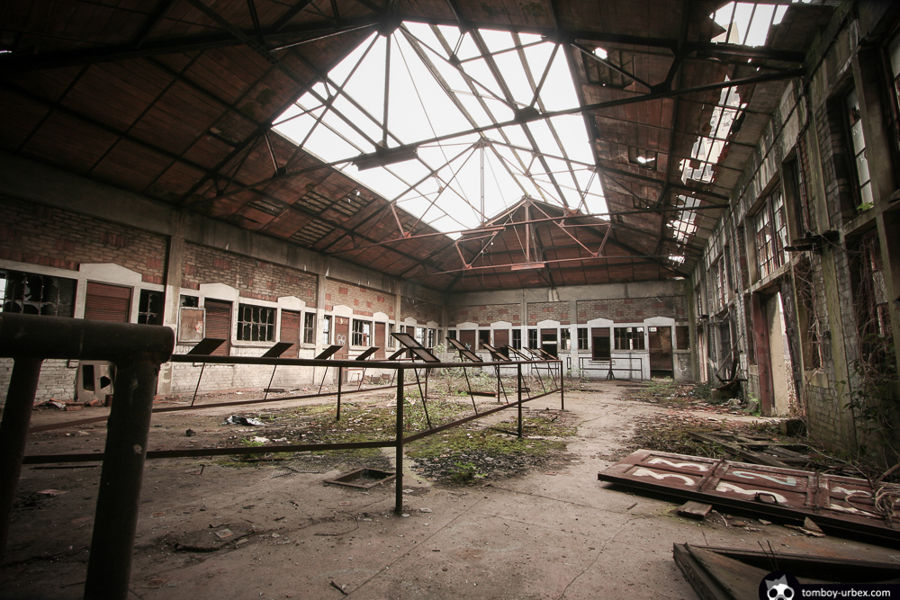 Abandoned Hasard Collieries Cheratte アザール炭坑