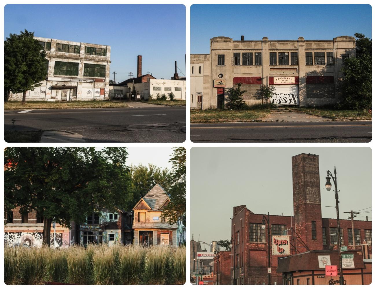 デトロイト 廃墟