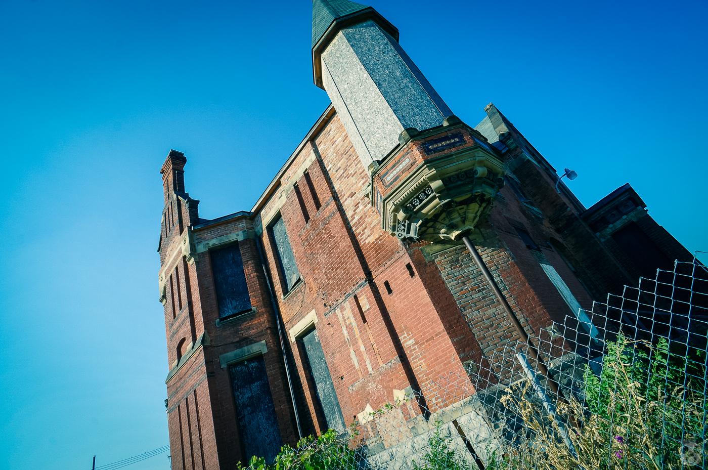 Brush Park Historic District  ブラシパーク歴史地区の廃墟郡
