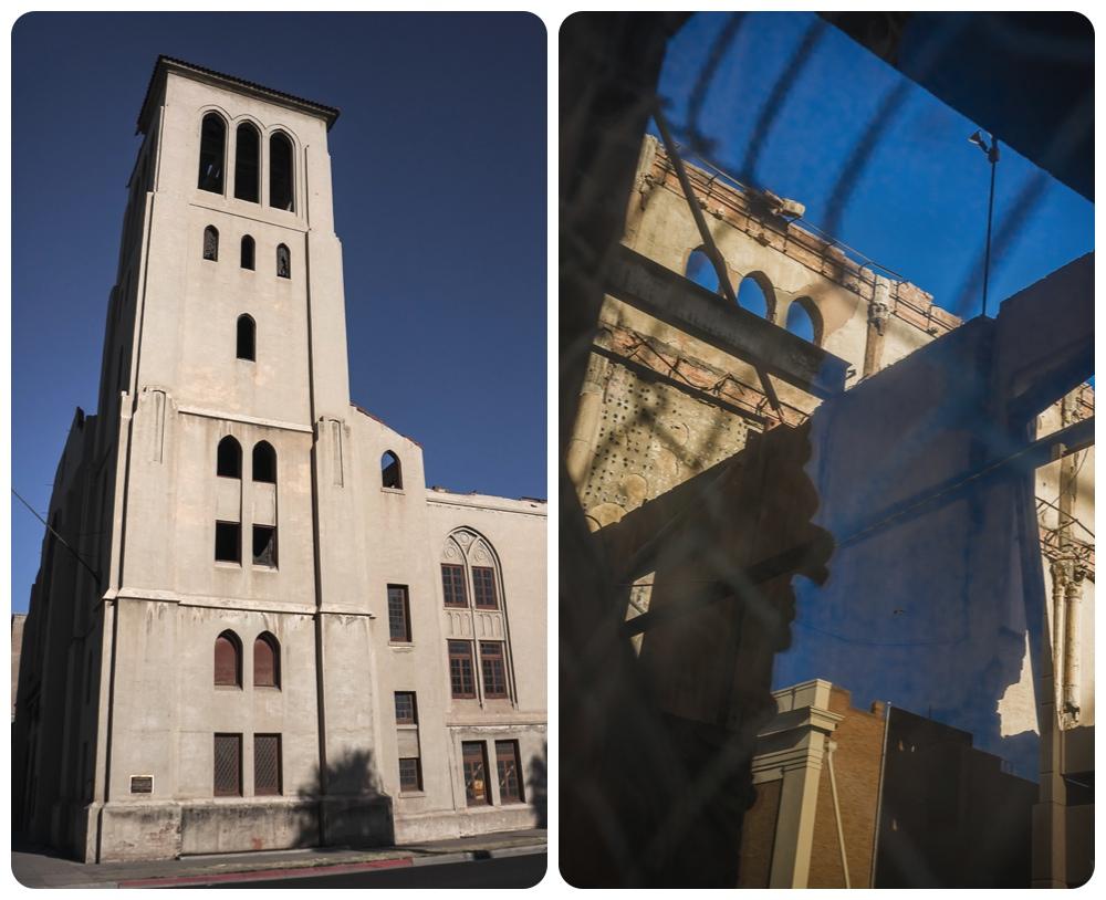 Abandoned First Baptist Church in Phoenix アメリカ廃墟 ファーストバプテスト教会