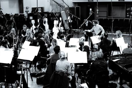 Rehearsing with BBC Symphony Orchestra, 2013