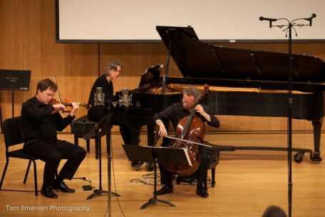 "Third Angle Ensemble premiere Piano Trio ""The Chronophage"", April 2012"
