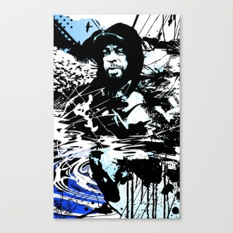 NEXT2NOTHING Canvas Print