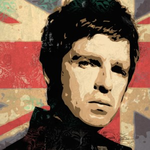 Noel Gallagher illustration by Tom Deacon