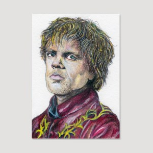 Tyrion Lannister Sketch Card by Tom Deacon